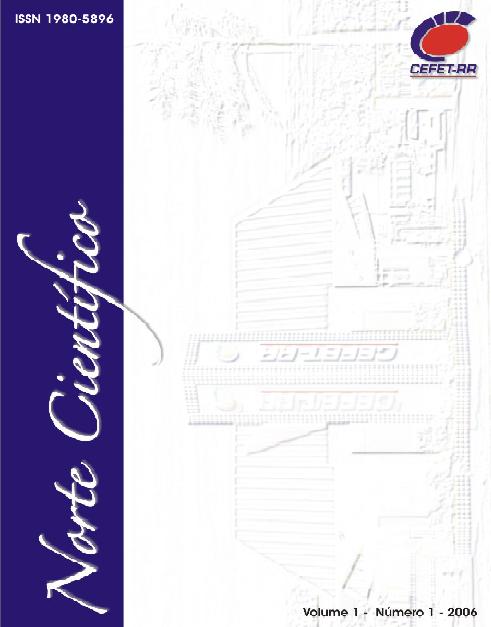 Norte Científico, v. 1, n. 1, 2006